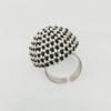 Kép 1/3 - GÖMB ezüst gyűrű